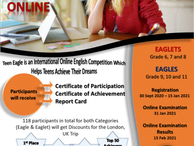 teen eagle online main poster